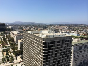 los angeles from city hall 2